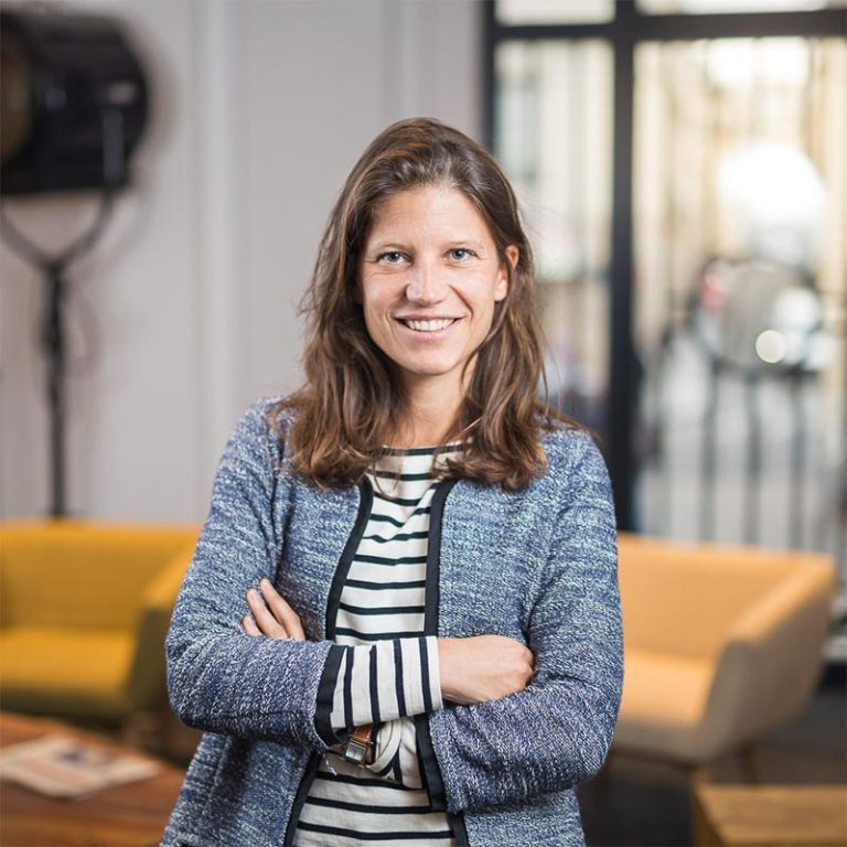 hopscotch talent Marie de Beauregard<br>Human Resources Director at Hopscotch Group