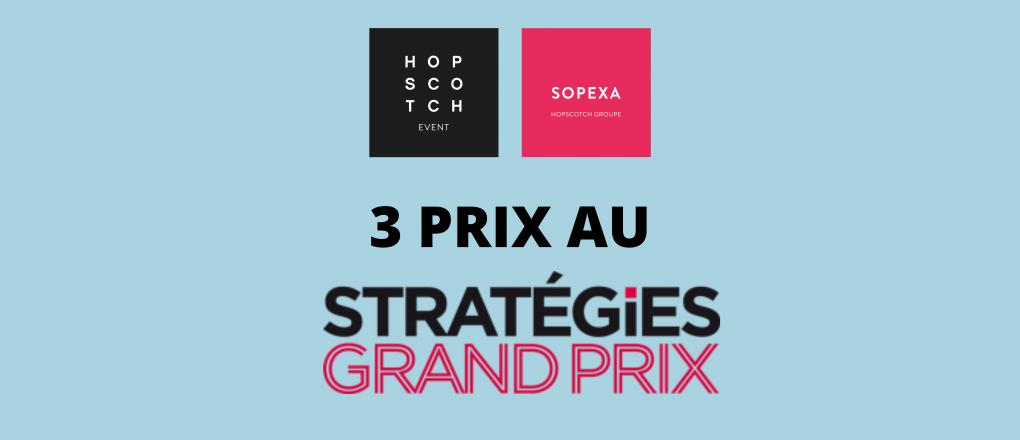 3 PRIX AU GRAND PRIX STATEGIES